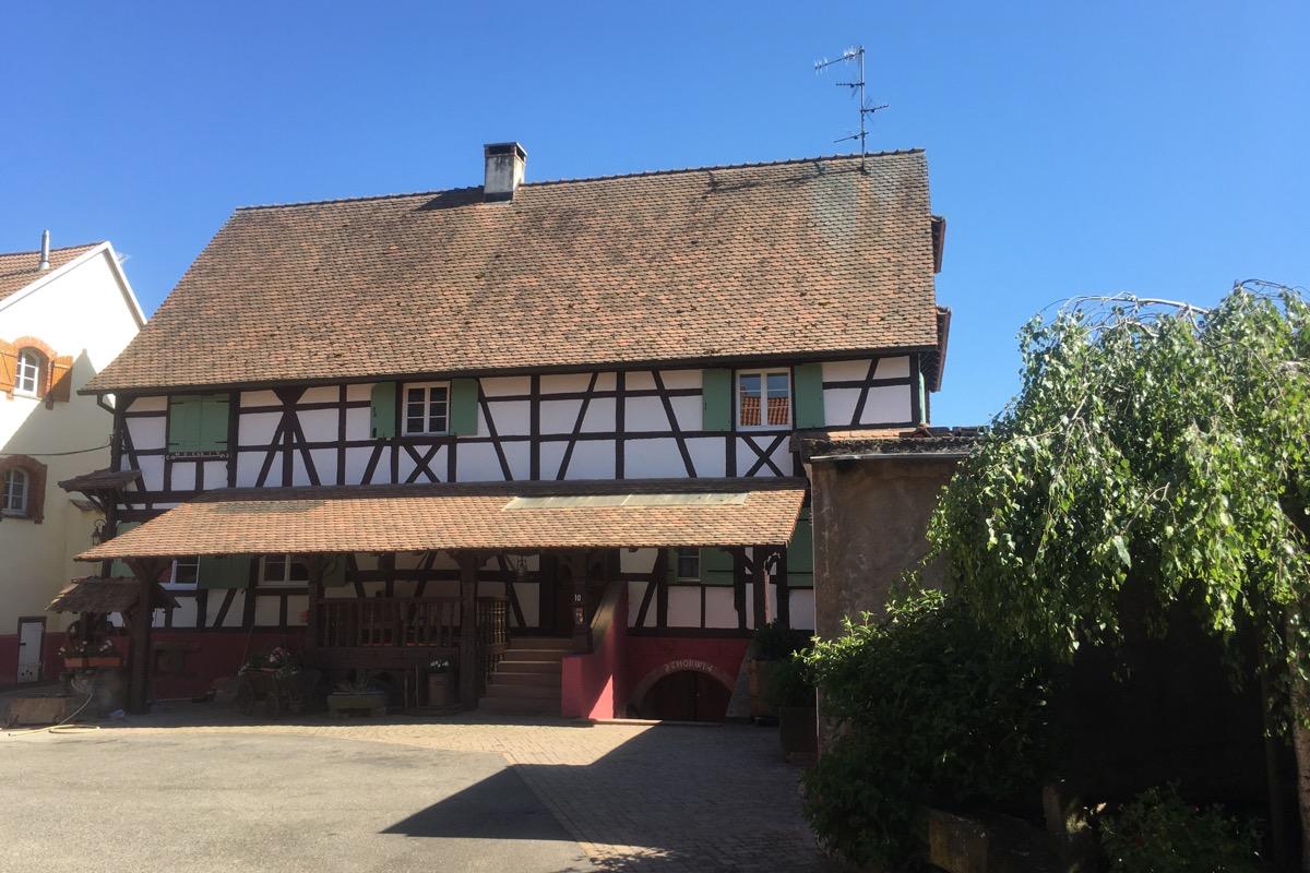 Meublé de tourisme Luttmann rez-de-chaussée (Fessenheim le Bas)