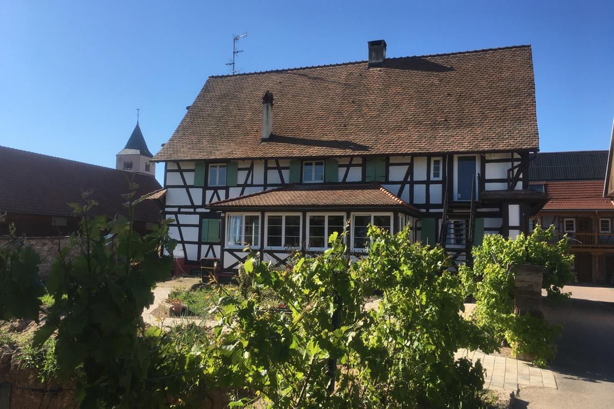Meublé de tourisme Luttmann étage (Fessenheim le Bas)