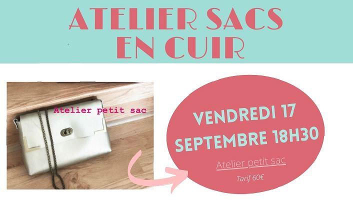 "Atelier sac en cuir ""Do It Yourself"""