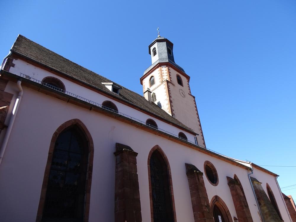 Protestantische Kirche von Bouxwiller