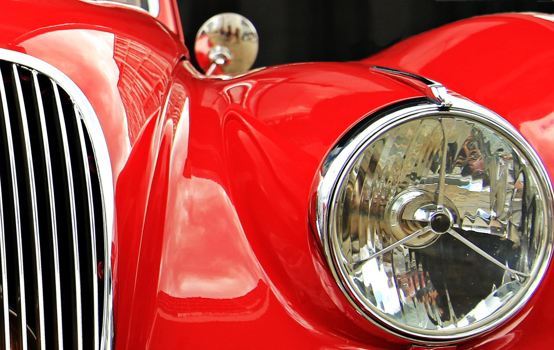 Rassemblement de voitures de collection et de prestige