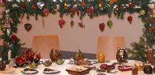 Ateliers, expositions et animations de Noël.