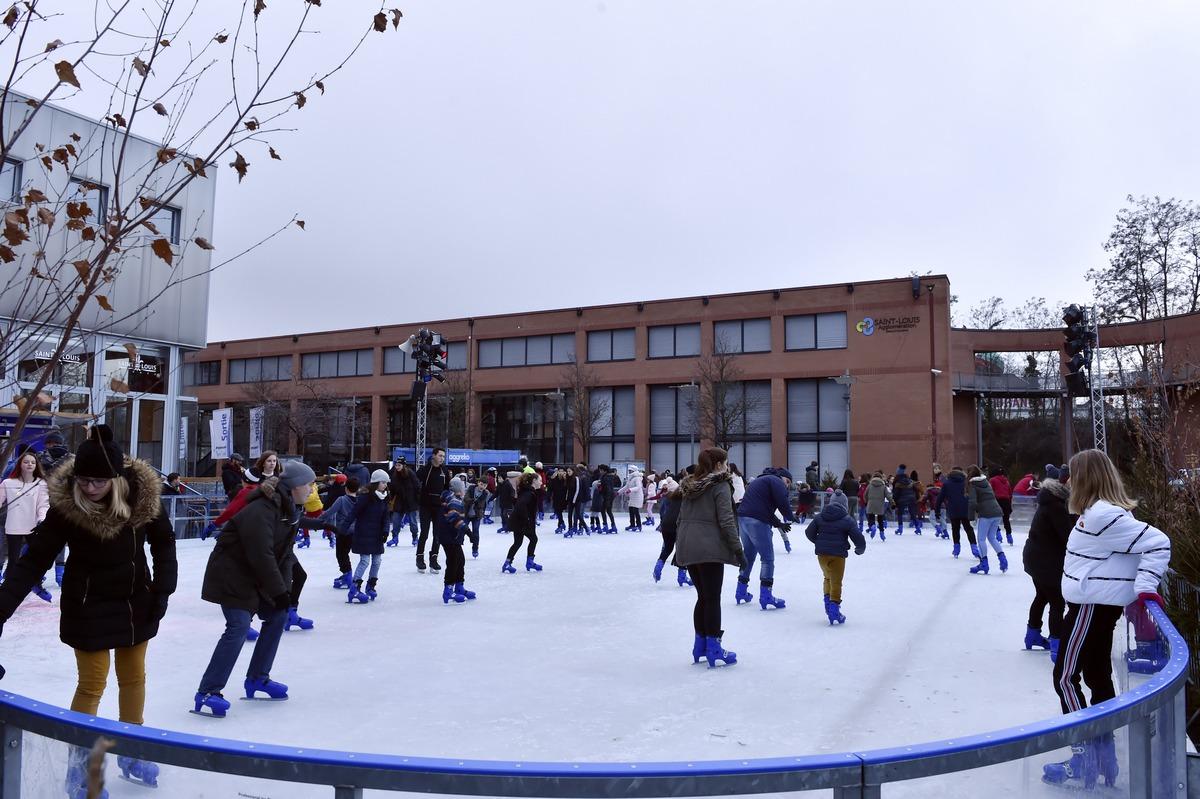 La patinoire de Noël