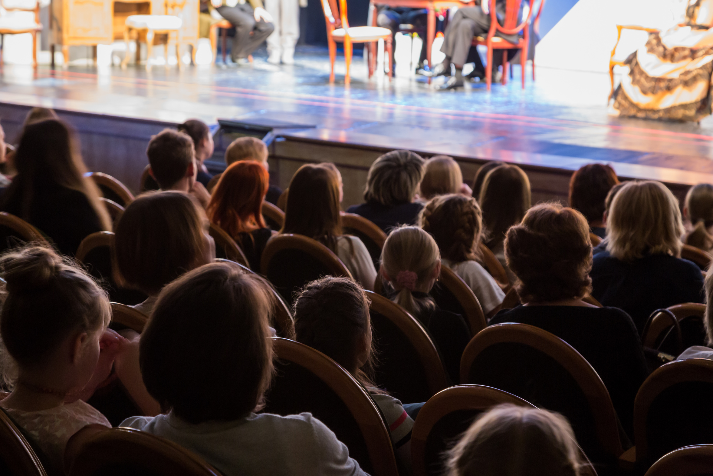 Théâtre jeune public par la Cie du Grenier - théâtre d'enfant