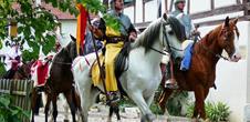 Fête médiévale au Landskron