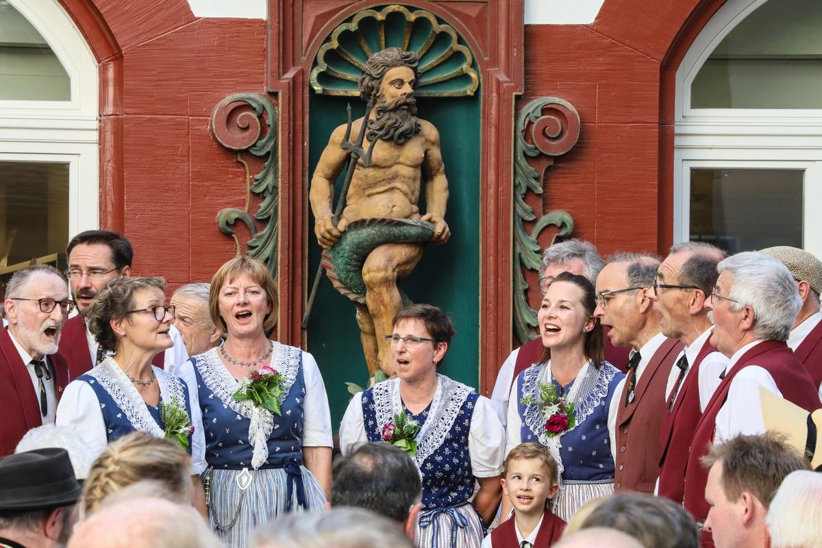 Festival fédéral de Yodel à Bâle
