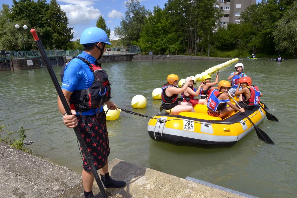 Séances encadrées de kayak, hydrospeed, SUP
