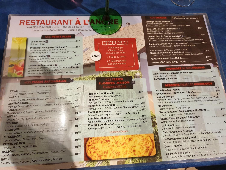 Restaurant A l'Ancre