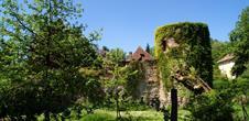 Jardin et vestiges