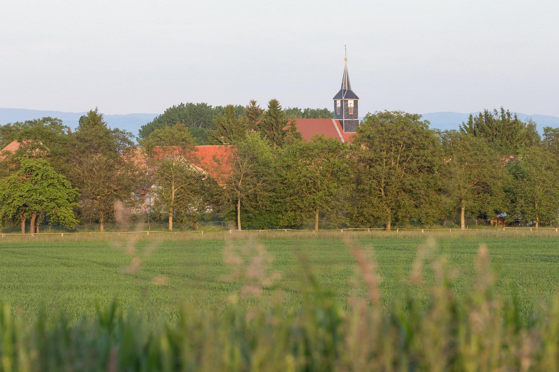 Entre chapelle et houblon à Mittelhausen