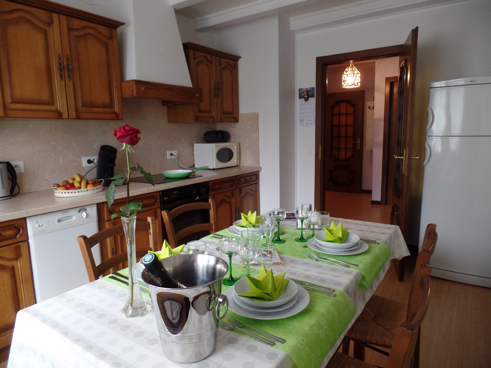Vacation rental of Mrs. MUNSCH Elisabeth