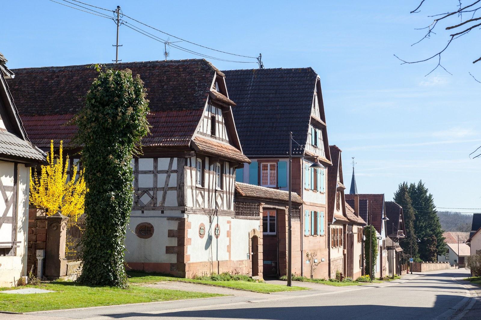 Sentier des maisons à colombages