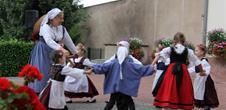 Présentation de danses folkloriques