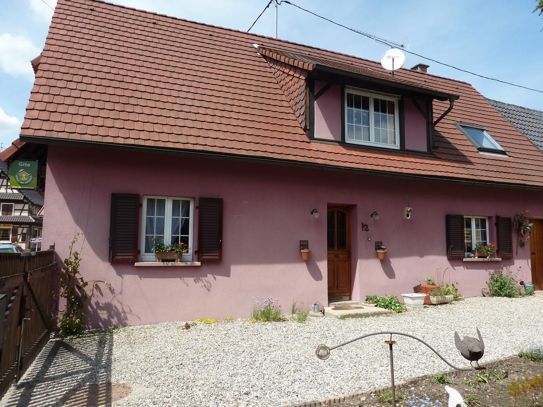 Accommodation of Mr. and Mrs. Sandrock - Gîte Rose