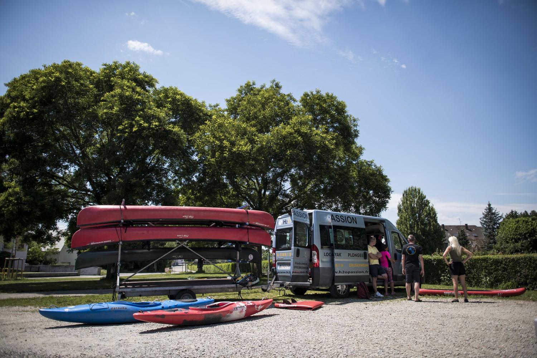 Descente de la Moder en canoë-kayak