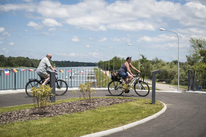 Au fil du Rhin supérieur à vélo : Nature, culture, histoire
