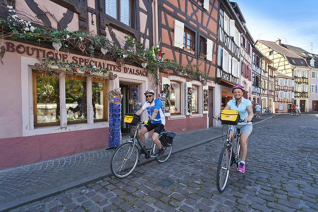 Alsace Wine Road by bike