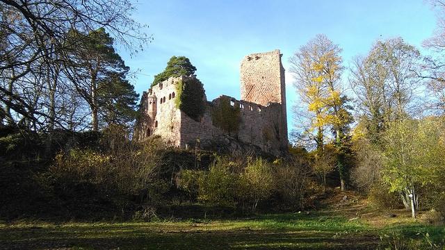 Randonnée des Châteaux forts des Vosges Moyennes