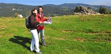 Hiking without luggage in the Kaysersberg Valley