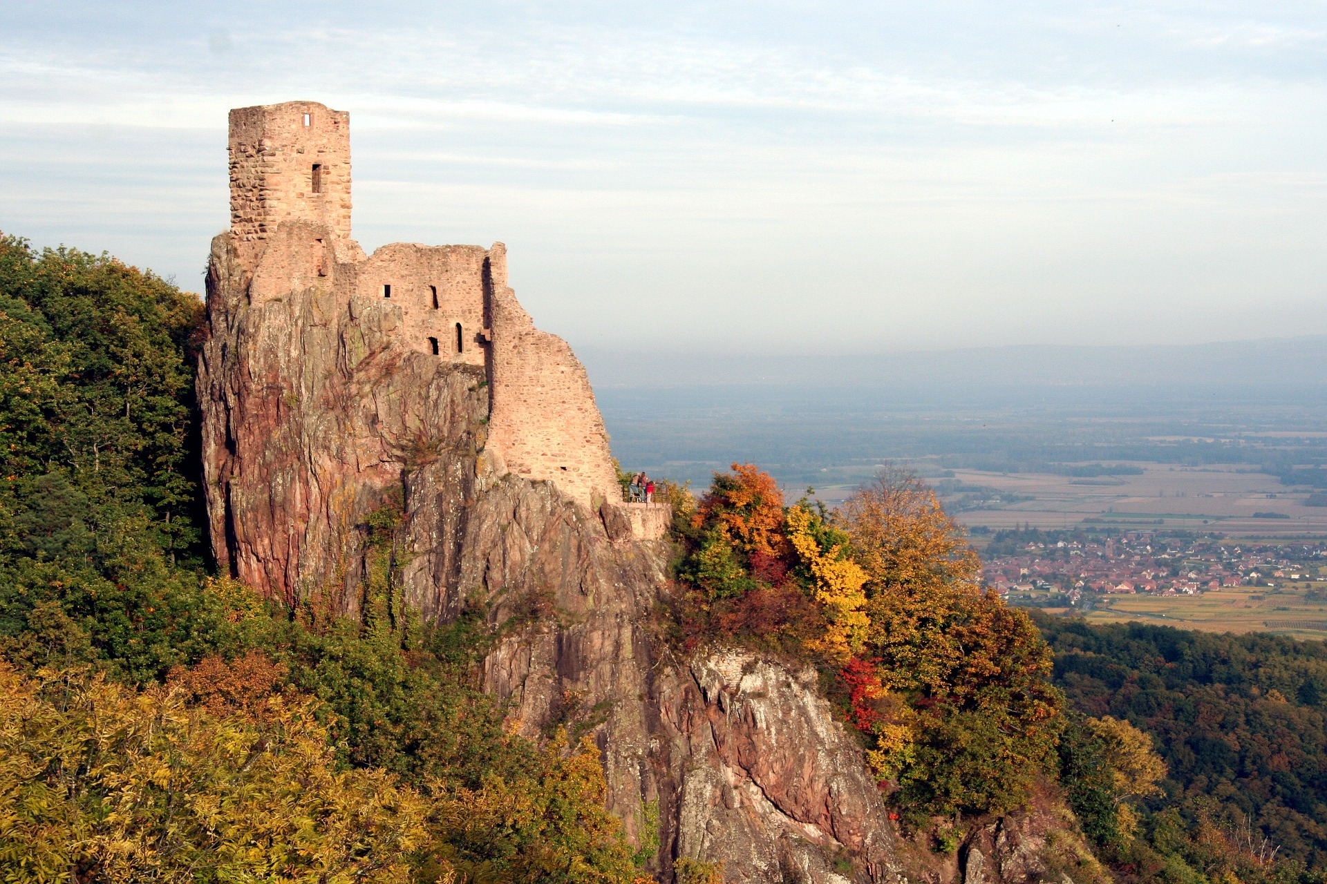 From North Vosges to Kaysersberg (and way back) - 4 stages