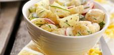 Salade de pommes de terre (Grumbeeresalad)