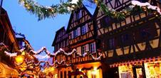 Weinproben und Weihnachtsmärkte im Elsass