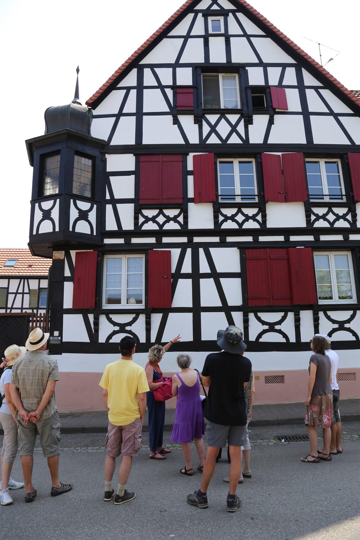 Visite guidée : Bischwiller, du château à la maison ouvrière