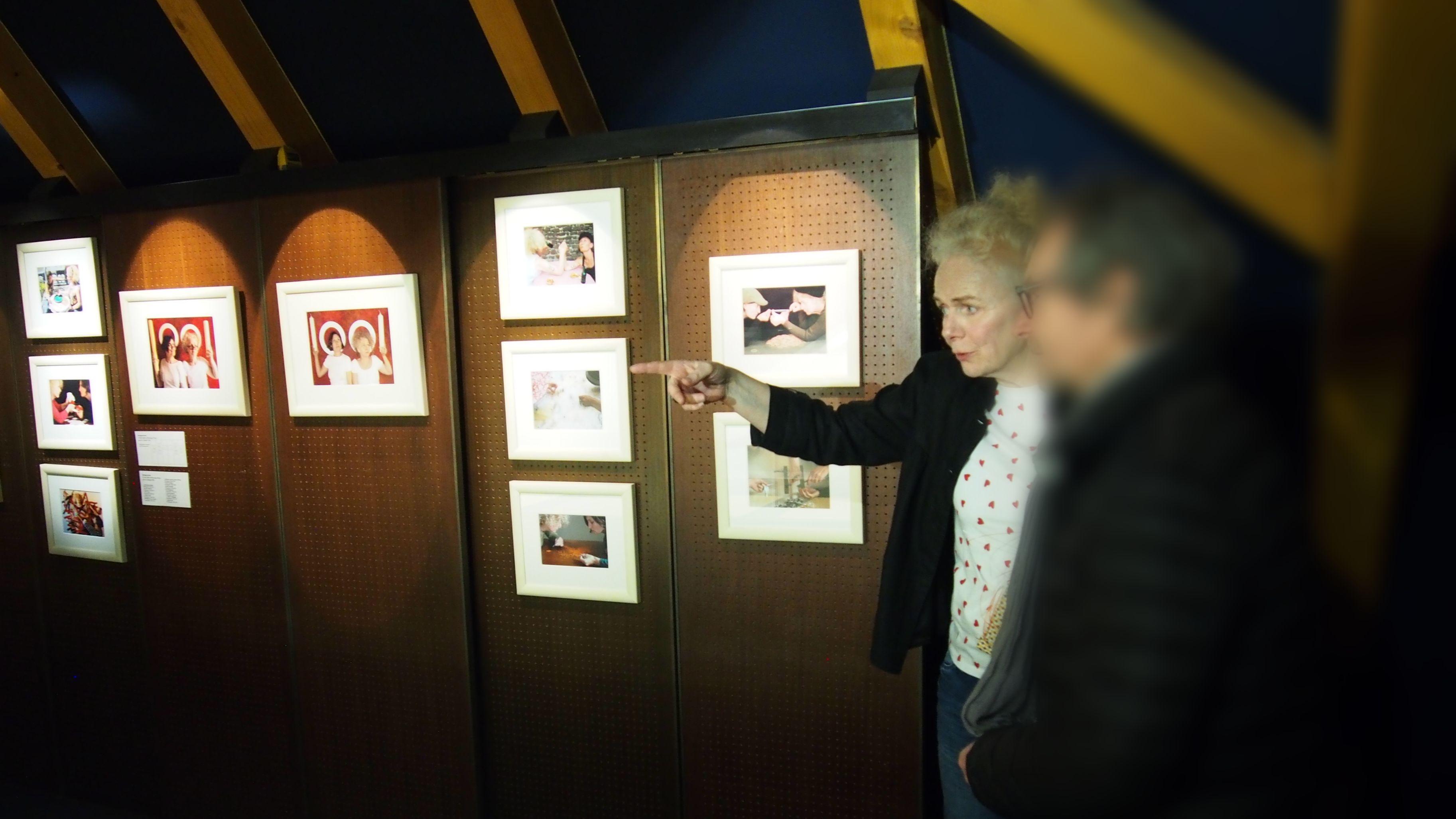 Rencontre avec les artistes : Corine Kleck et Véronique Moser
