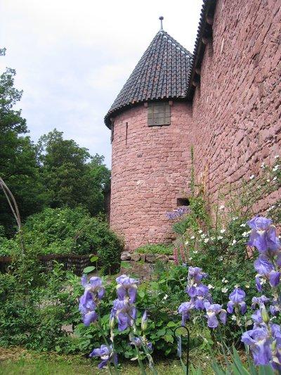Jardin m di val orschwiller for Jardin medieval