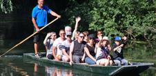Boat trip boatmen's festival