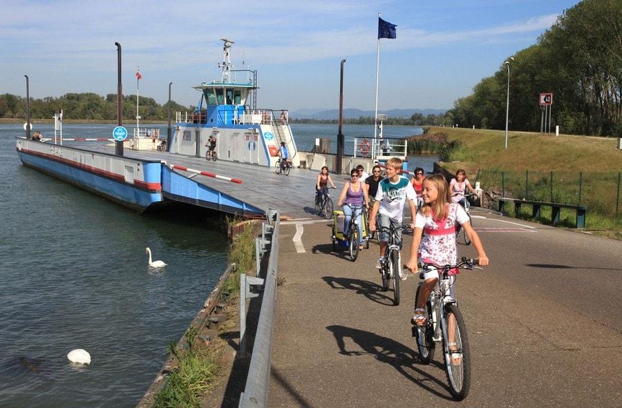 Circuit cyclable transfrontalier Rhinau - Kappel - Schwanau