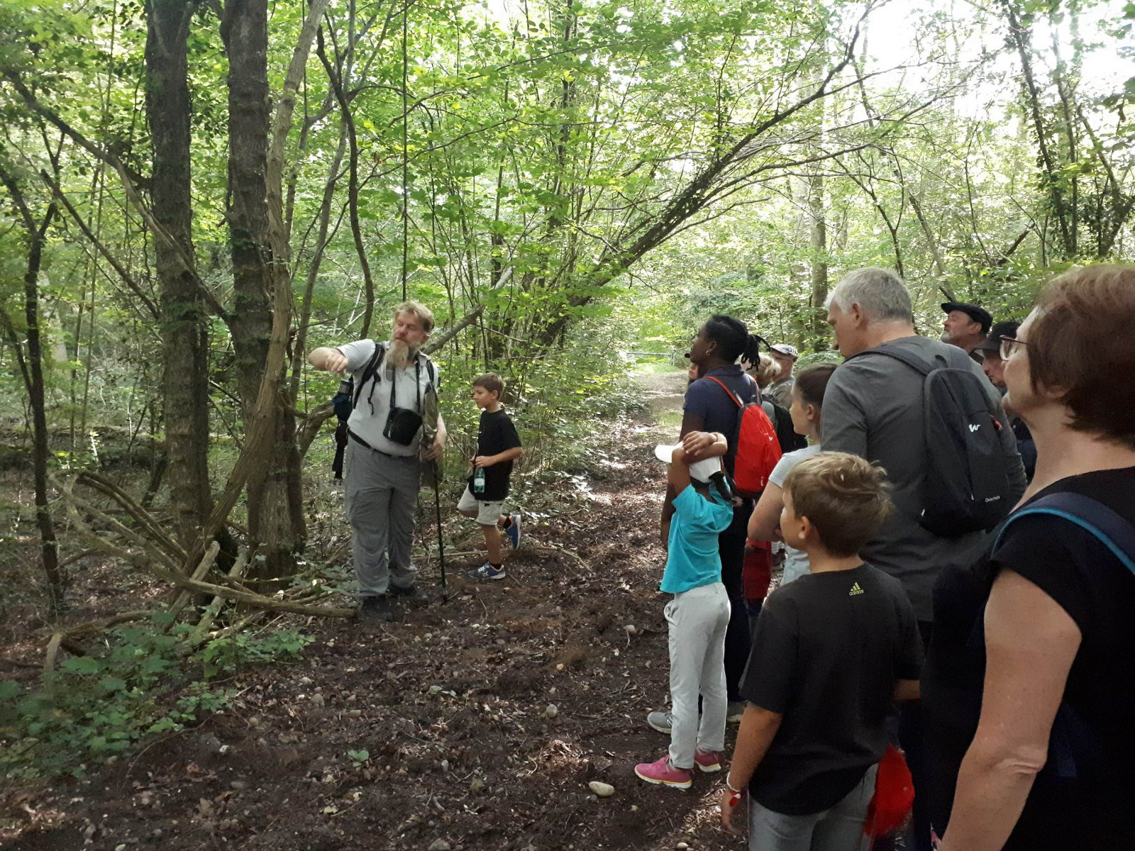 """Guided tour of the """"La Sommerley"""" nature reserve"""