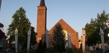 St Georges Kirche, in Marckolsheim