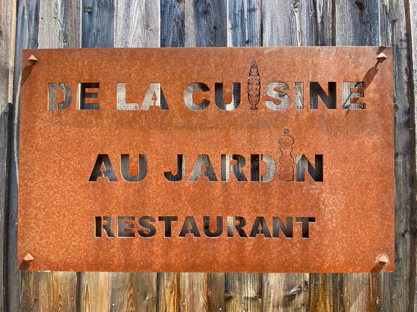 restaurant de la cuisine au jardin benfeld