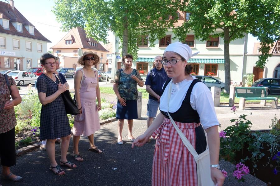 Balade contée familiale : Marckolsheim, quand j'étais petite en 39-45