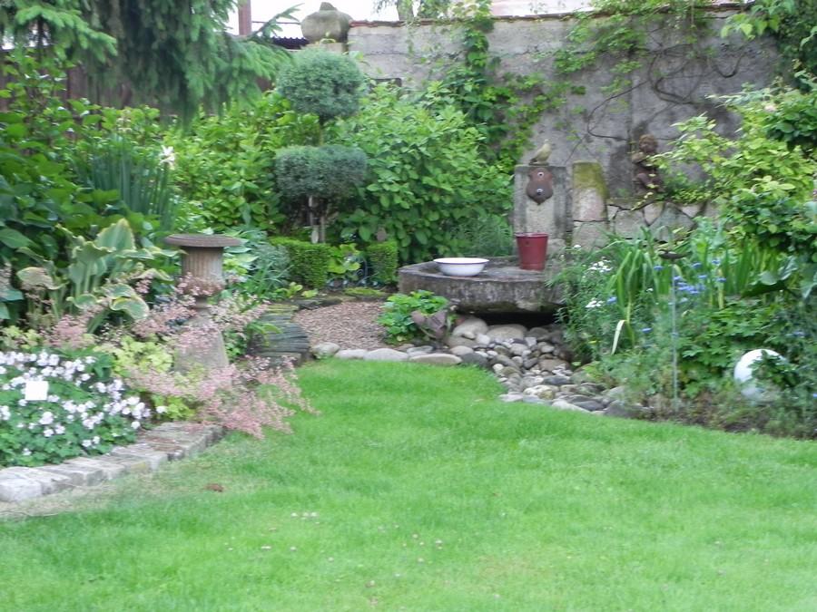 Park and open garden of Jacqueline and René Schunck