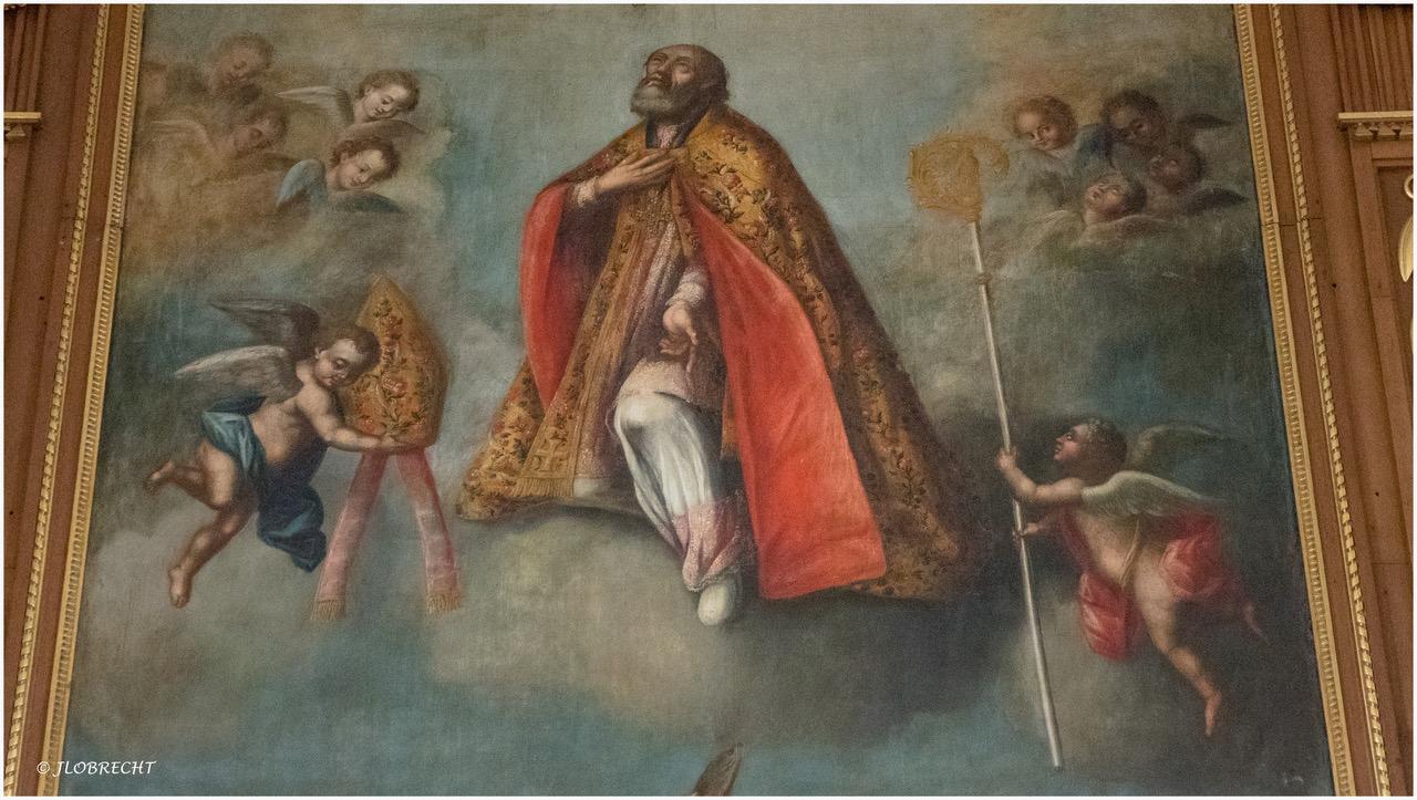 Ouverture de l'église - exposition de la toile St Ulrich