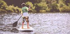 Stand up Paddle au plan d'eau