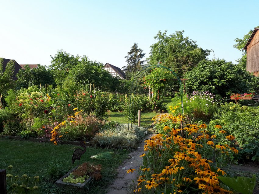 Au jardin fleuri - chambre coquelicot - Uttenheim
