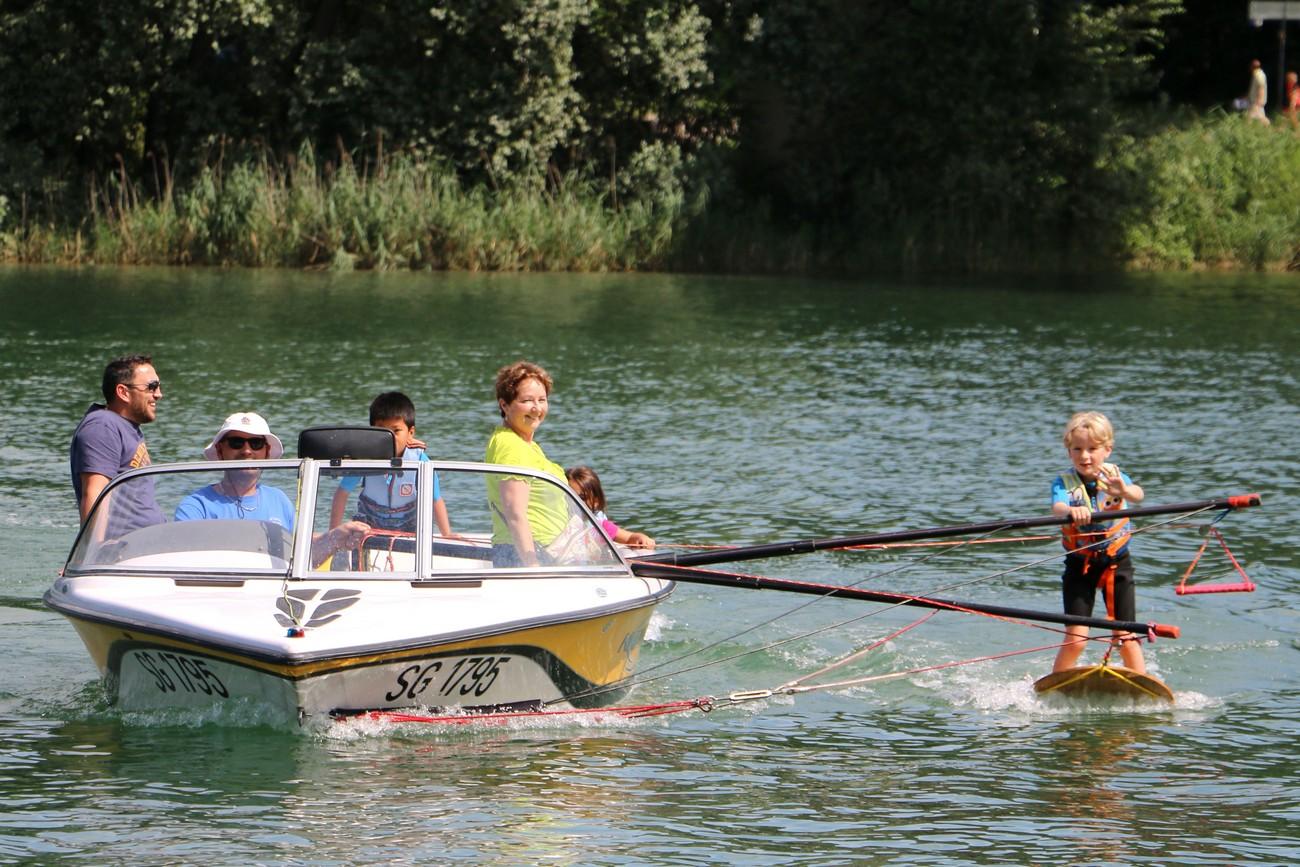 Babyski : Initiation au sport nautique