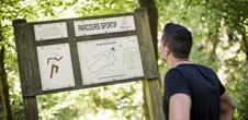 Parcours de santé - Le parcours du site du Gros-Chêne