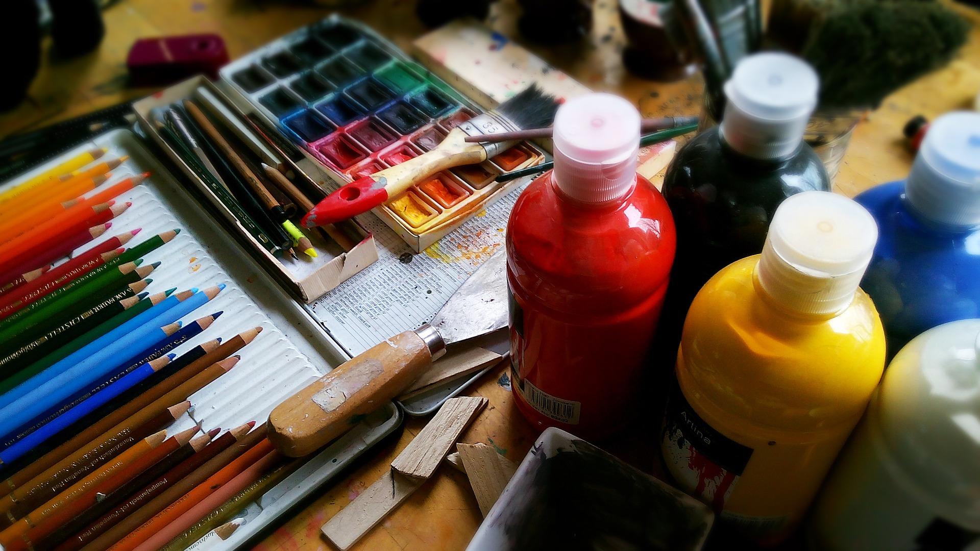Stages de peinture acrylique