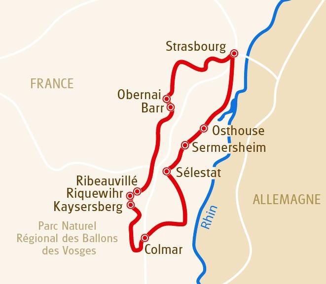 Les Charmes de l'Alsace