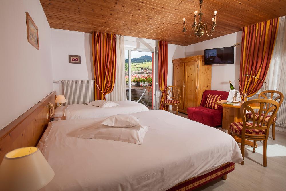 Hotel Restaurant Au Bois Le Sire Room Grande Terrasse Orbey