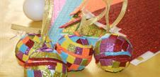 Christmas handicraft work