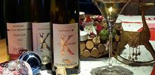 Christmas wines and sweets