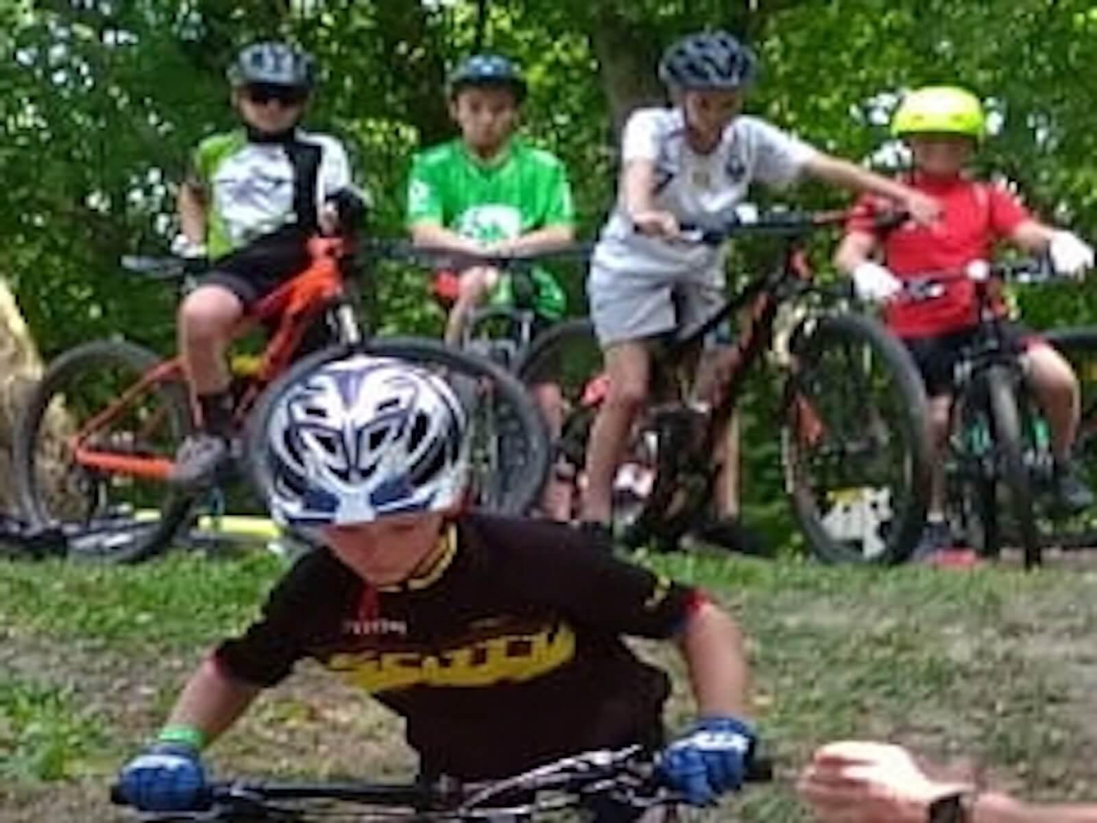Cours vélo VTT - Les bikers