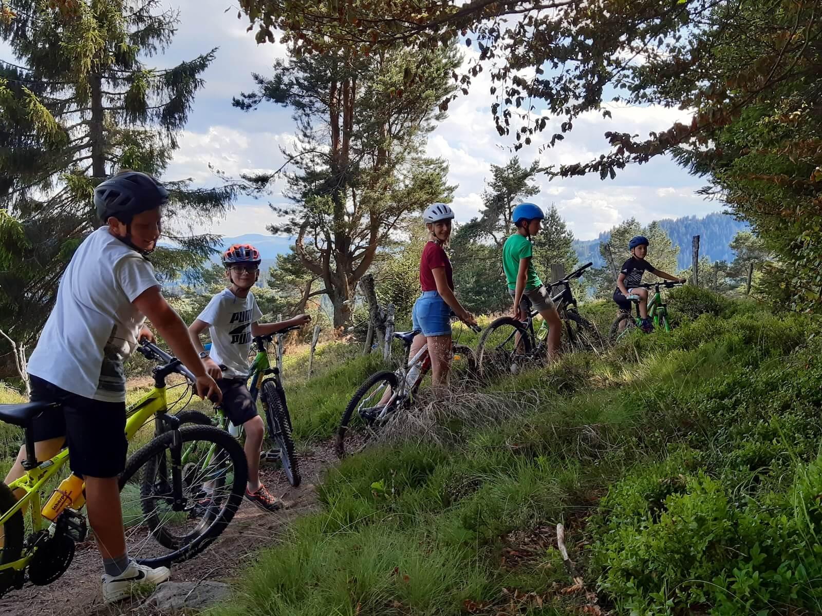 Stage VTT - Les bikers - 12 à 15 ans - Station du Lac Blanc