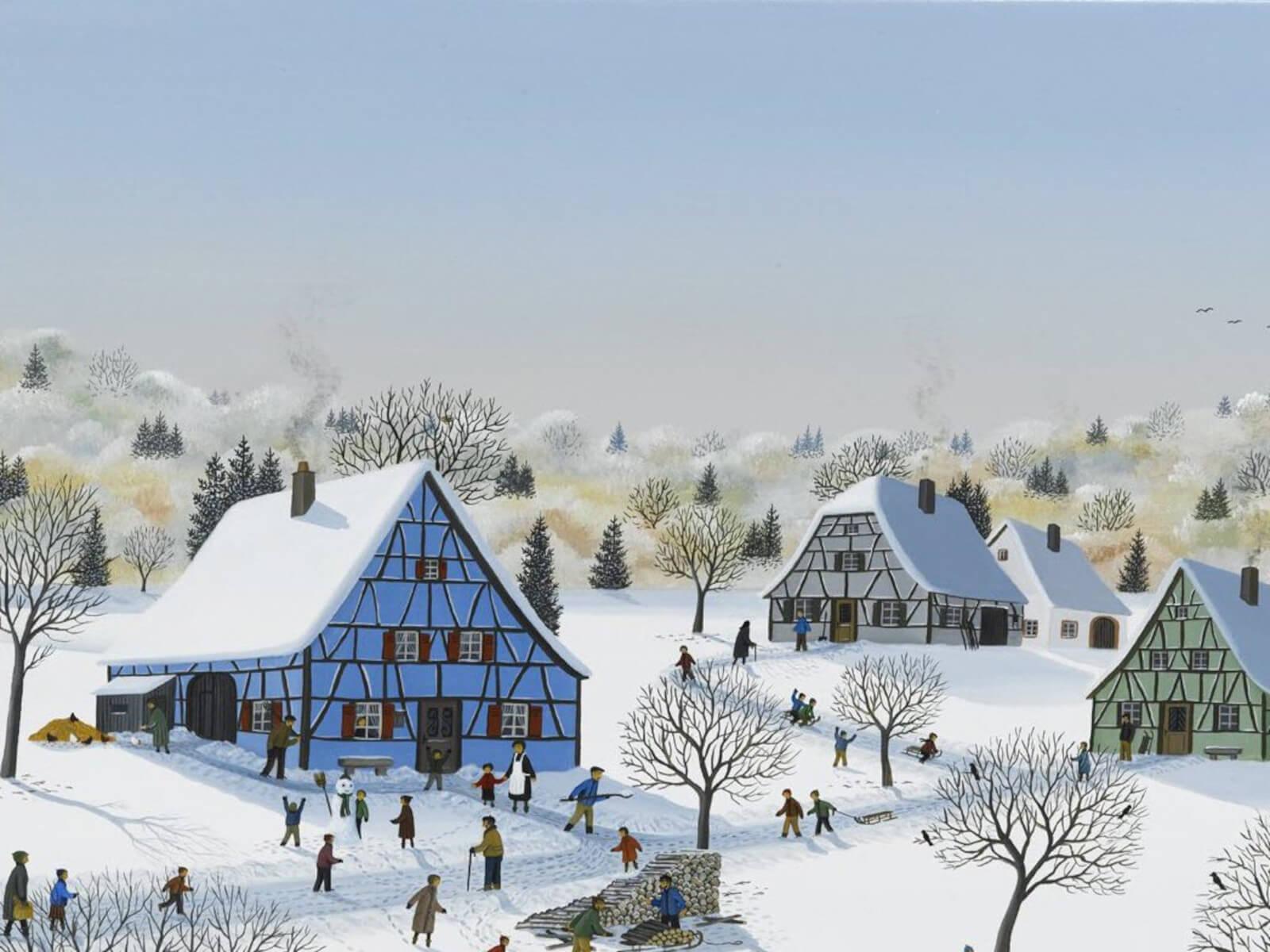 Exposition - Peintures de Denis Bauquier