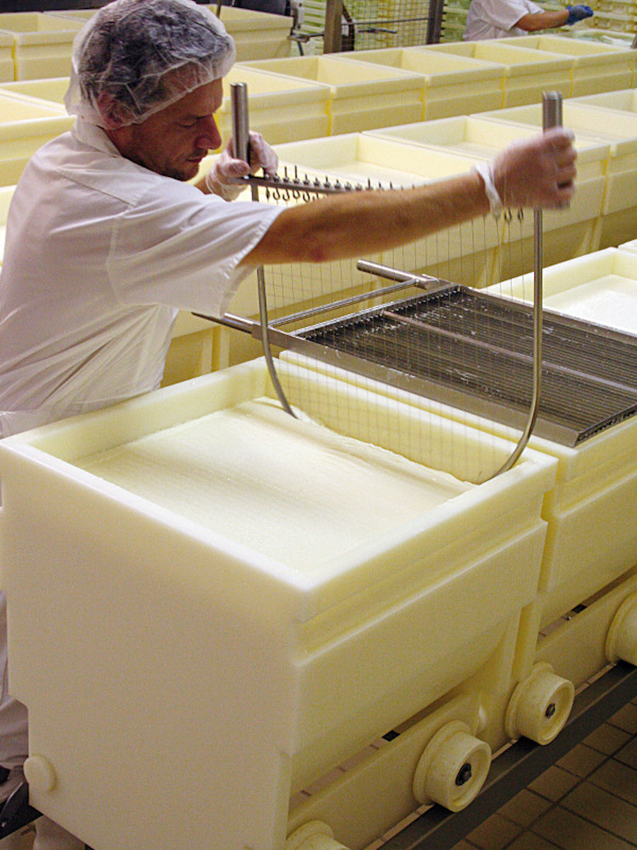 Cheese maker Haxaire